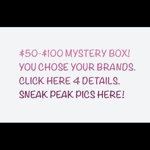 Mystery Box- You chose your brands!